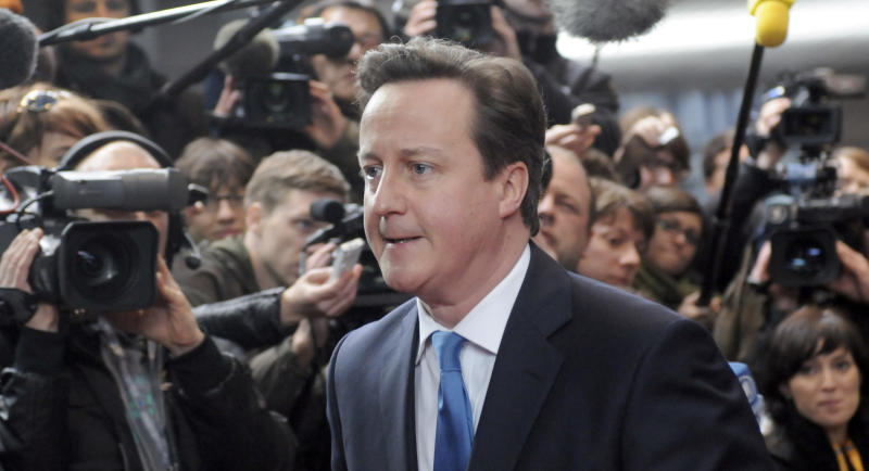UK PM Cameron says he did ride the gift horse