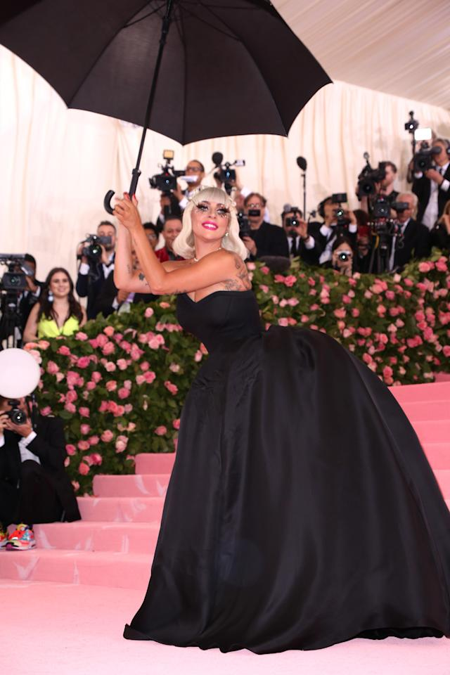 <p>Lady Gaga in Brandon Maxwell </p>