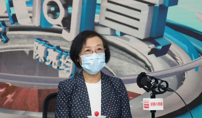 Sophia Chan said it was possible the government could tighten restrictions on eating out. Photo: Xiaomei Chen