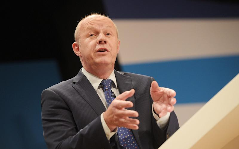 Damian Green, the Work and Pensions Secretary - Credit: Ben Birchall/PA