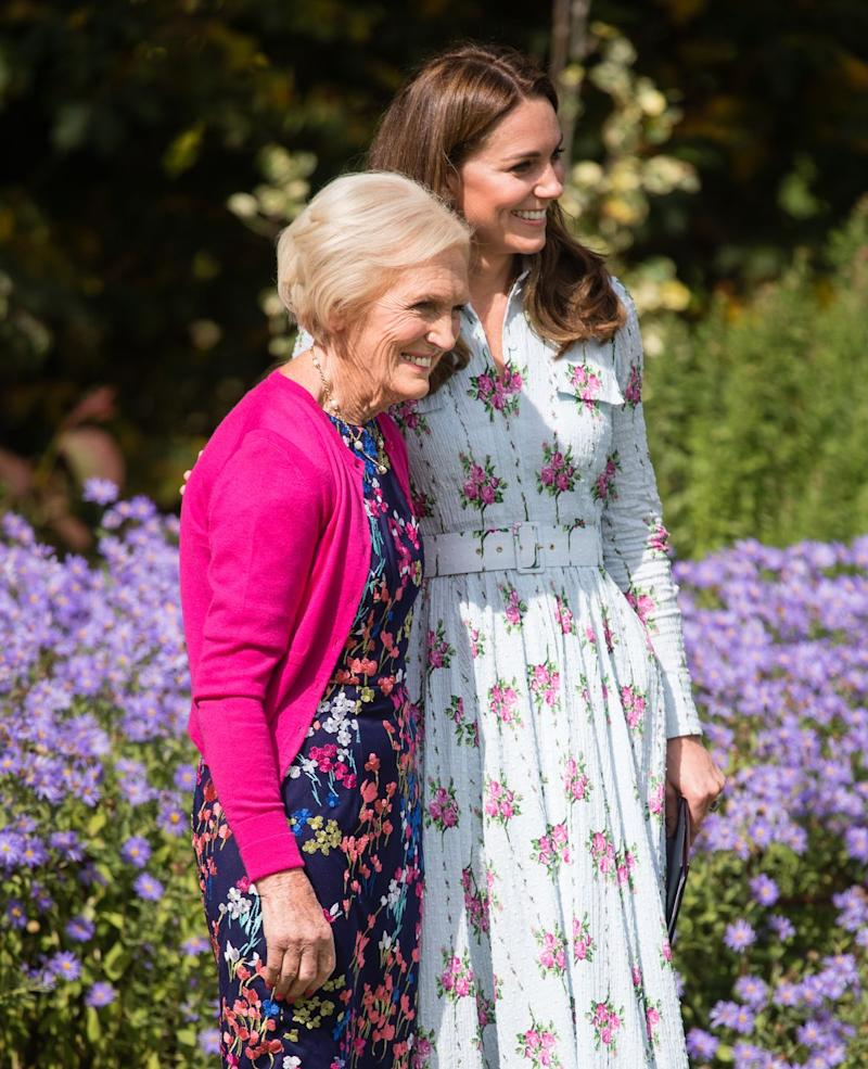 Kate Middleton Collaborating with Mary Berry on Christmas Cooking Show, According to Reports