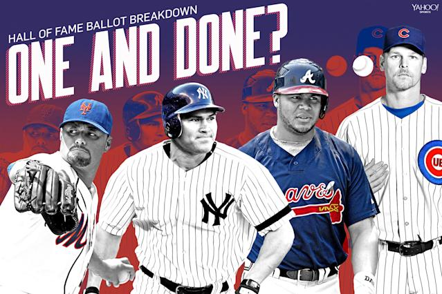 Hall of Fame 2018: Is it one-and-done for these ex-baseball stars?
