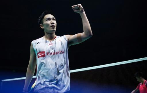 """Japan will likely provide the main challenge to China with """"bad boy"""" Kento Momota -- banned from the Rio Olympics for illegal gambling -- back in their ranks"""