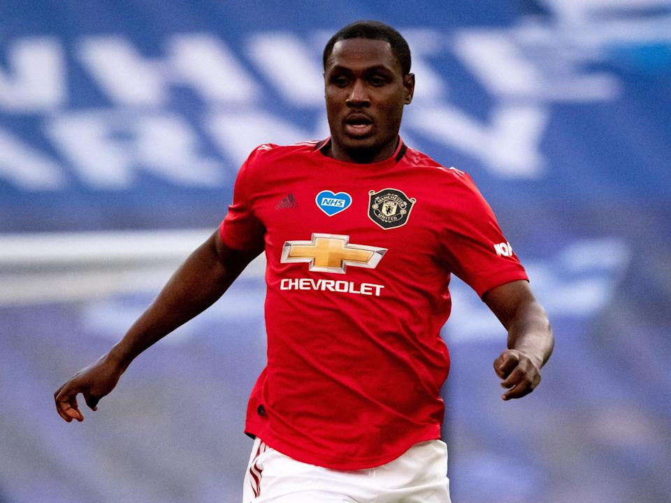 Odion Ighalo of Manchester United (Manchester United via Getty Imag)
