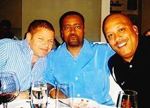 Nevin Shapiro said this photo was taken of him, Miami basketball coach Frank Haith (middle) and basketball assistant Jake Morton (right) at Philipe Chow in the fall of 2008.