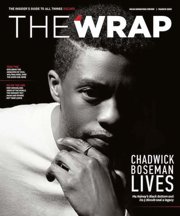 Oscar Nominations Preview/Chadwick Boseman front cover