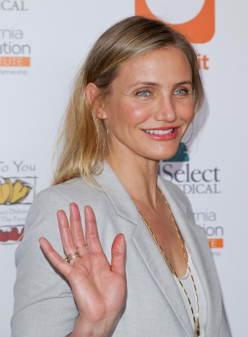 According to Selma Blair, Cameron Diaz is finished with her acting career. Source: Getty