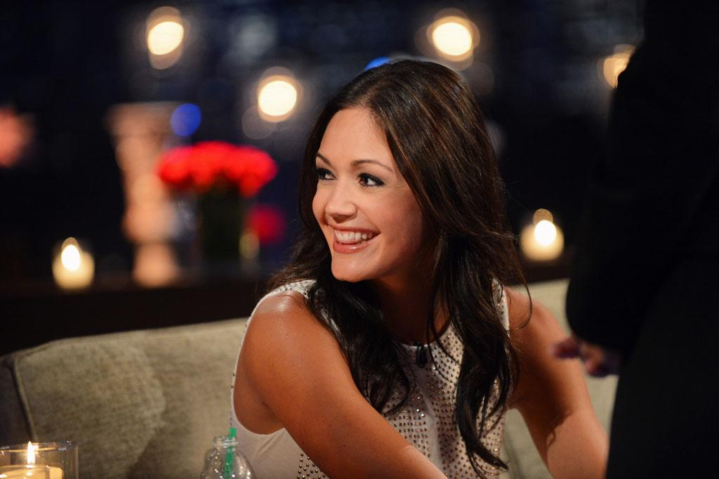 """Emotions ran high as Desiree sat down with Chris Harrison, live, to talk about her three final bachelors from this season - Brooks, Chris, and Drew. She took viewers back to those final days in Antigua when Brooks, the man she fell in love with, decided to go home. She discussed her feelings in those finals days, her relationships with the final three men, and the heart-wrenching decisions that she had to make that changed their lives forever. Brooks, Chris and Drew are back to discuss the shocking outcome of the season. It's the poignant ending to Desiree's heartfelt journey to find true love, live, on """"The Bachelorette: After the Final Rose."""""""