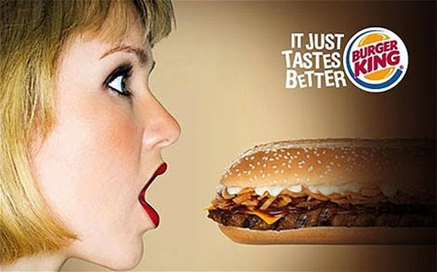 Burger King came under fire back in 2009 for another misogynistic campaign [Photo: Burger King]