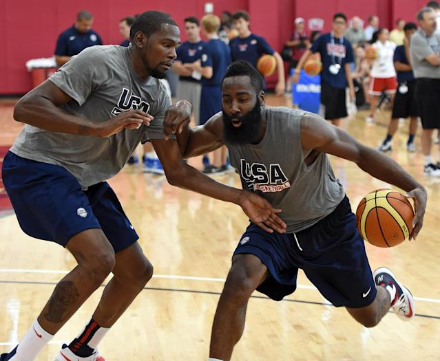 Jerry Colangelo says James Harden is the leader of Team USA