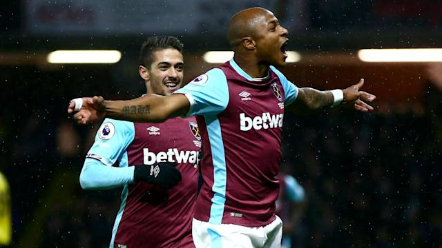 The 27-year-old's screamer against the Eagles has been voted the Hammers' goal of the month of October by the club's supporters