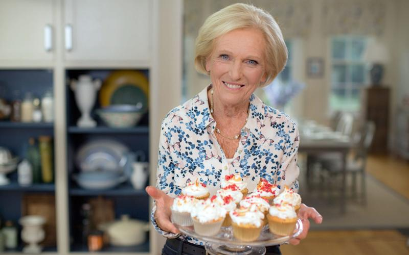 Mary Berry - Credit: BBC/PA