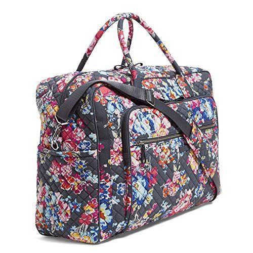 """<p><strong>Vera Bradley</strong></p><p>amazon.com</p><p><strong>$107.51</strong></p><p><a href=""""https://www.amazon.com/dp/B07LBWQCDL?tag=syn-yahoo-20&ascsubtag=%5Bartid%7C2164.g.32388887%5Bsrc%7Cyahoo-us"""" rel=""""nofollow noopener"""" target=""""_blank"""" data-ylk=""""slk:BUY NOW"""" class=""""link rapid-noclick-resp"""">BUY NOW</a></p><p>Were it up to Ree, flowers would decorate pretty much everything. If you agree, this bag will be right up your alley. It's also machine washable, so you can clean it between trips. </p>"""