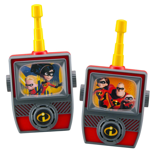 <p>Mid Range Walkie Talkies, KidDesigns, $16.99. (Photo: Courtesy of Disney Products and Interactive Media) </p>