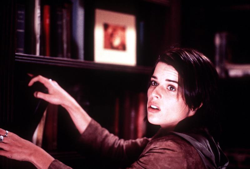 "Neve Campbell in Wes Craven's ""Scream 3."" Photo credit: Joseph Viles Dimension Films"
