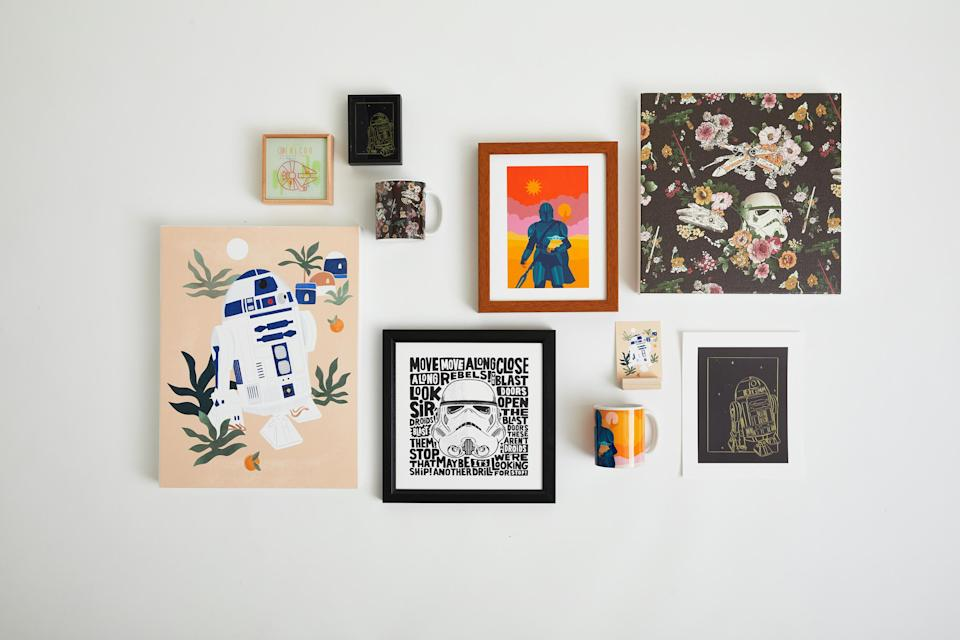 Star Wars Society6 Collection