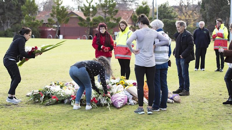 Memorial to murdered Australian comedian Eurydice Dixon vandalised as thousands join vigils