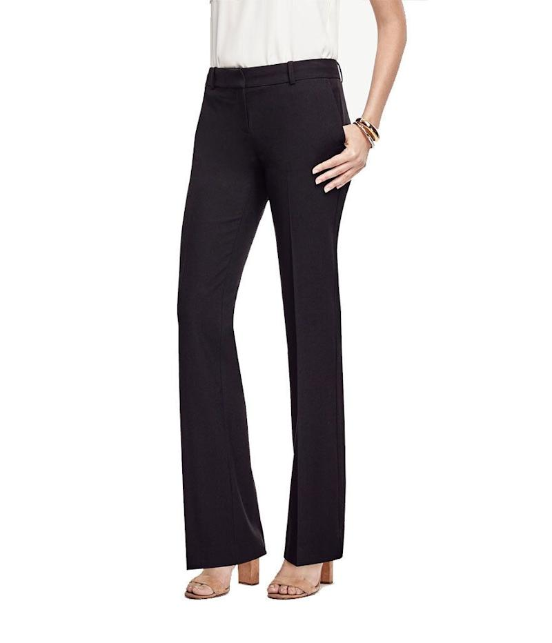 Ann Taylor Trouser in Seasonless Stretch (Photo: Ann Taylor)