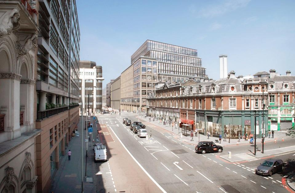 Property developer Helical is creating offices at 33 Charterhouse Street close to Farringdon station (Helical)
