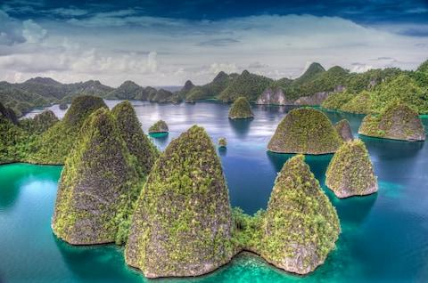 "Wayag, Indonesia: ""a stunning, magical place"" - Credit: Getty"