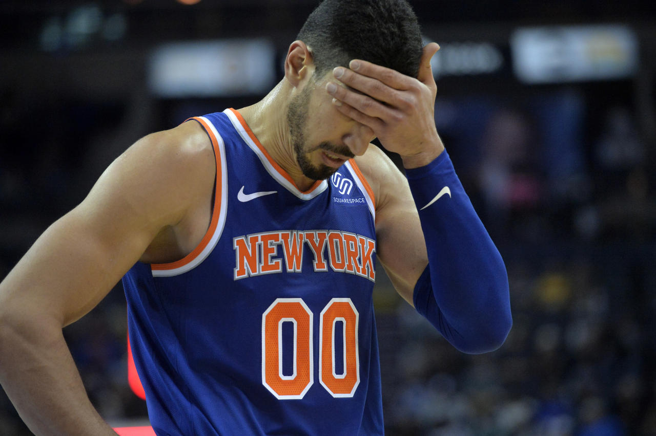 Image result for Enes Kanter Says Free Agents Don't Want to Sign with Knicks Because of James Dolan