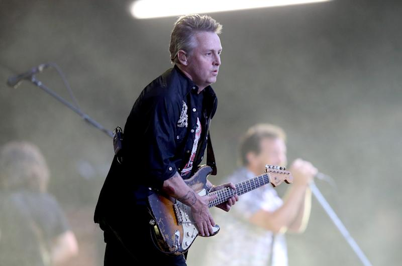 Mike McCready of Pearl Jam in 2014.