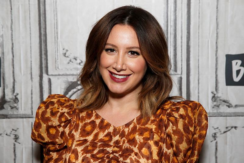 Ashley Tisdale announced her pregnancy in September. (Photo: Dominik Bindl/Getty Images)
