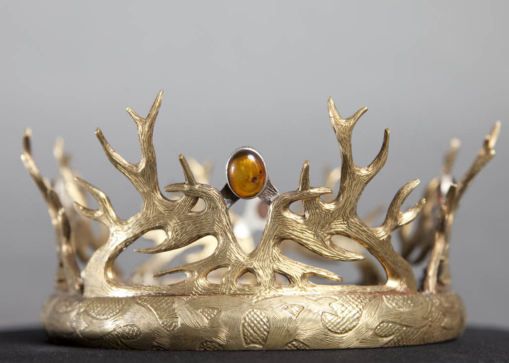 "Renly Baratheon's crown from ""Game of Thrones."""