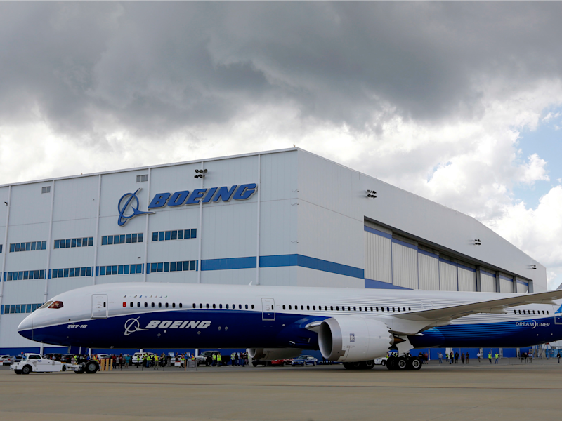 Boeing South Carolina factory 787 Dreamliner