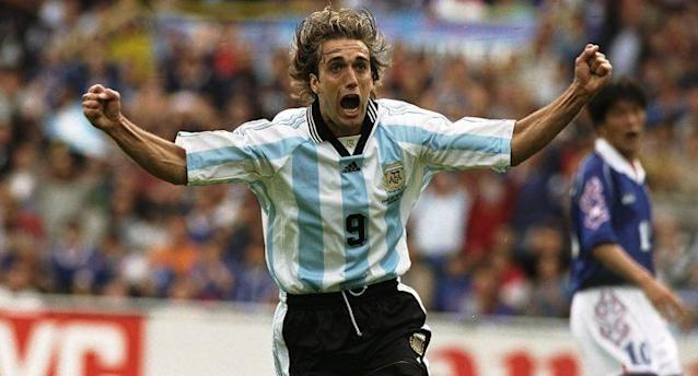 Gabriel Omar Batistuta / Foto: Getty Images