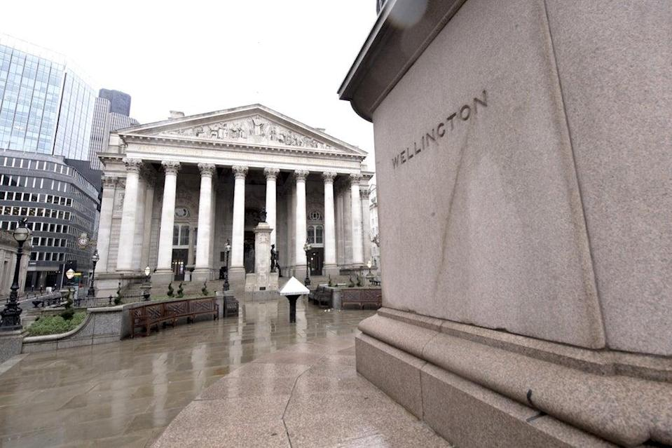 Bank of England base rate day failed to excite the markets (Ian West / PA) (PA Archive)