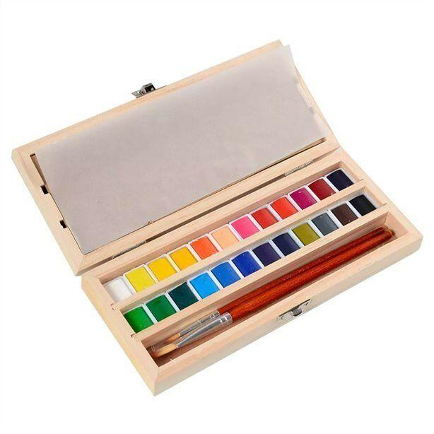 """Maybe your brother or sister think they're the second coming of Picasso &mdash; or maybe you think they need to spend less time playing Minecraft. Either way, help them bring our their creative side with this handmade watercolour set. <a href=""""https://www.chapters.indigo.ca/en-ca/paper/hand-made-modern-watercolour-set/815219029380-item.html"""" target=""""_blank"""" rel=""""noopener noreferrer"""">Get it for $30 at Indigo.</a>"""