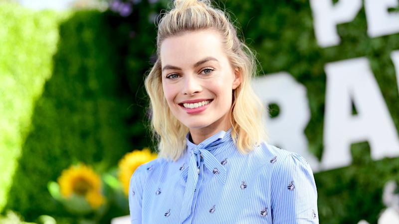 Margot Robbie en février 2018 - Emma McIntyre - Getty Images - AFP