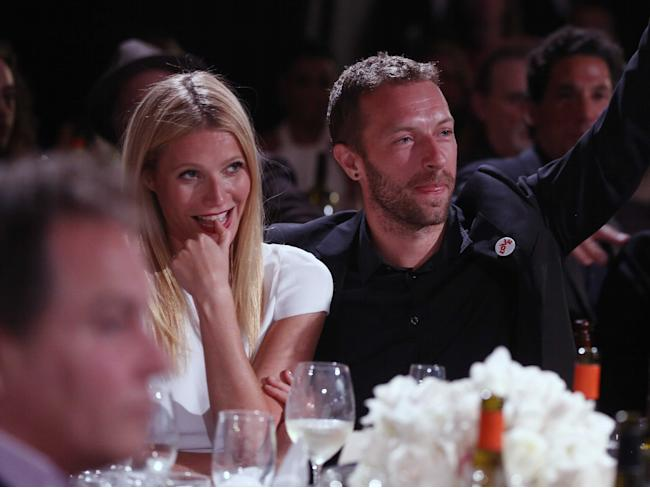 Gwyneth Paltrow Chris Martin Auction
