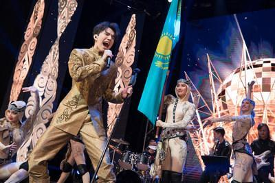 Triple-platinum selling Kazakh pop star and national cultural envoy Dimash Qudaibergen to perform in New York this December (PRNewsfoto/The Ministry of Culture and Spo)