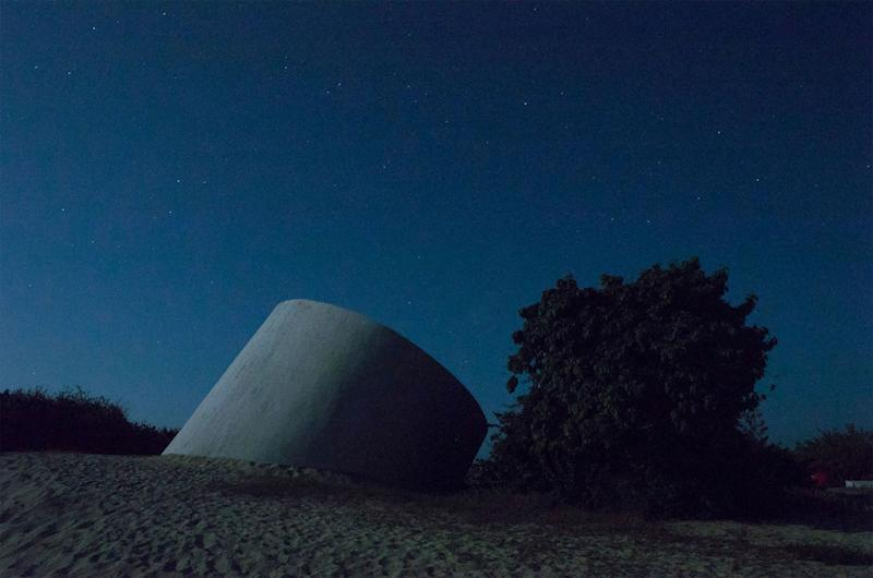 The Observatory at night.