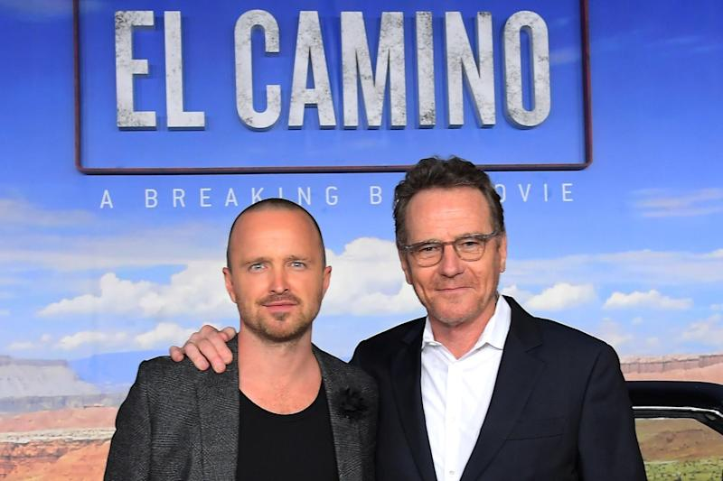 Breaking Bad's Aaron Paul says filming Netflix prequel to popular series was a 'dream come true'