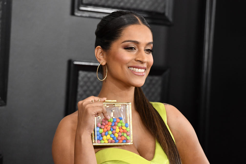 LOS ANGELES, CALIFORNIA - JANUARY 26: Lilly Singh attends the 62nd Annual GRAMMY Awards at STAPLES Center on January 26, 2020 in Los Angeles, California. (Photo by Frazer Harrison/Getty Images for The Recording Academy)