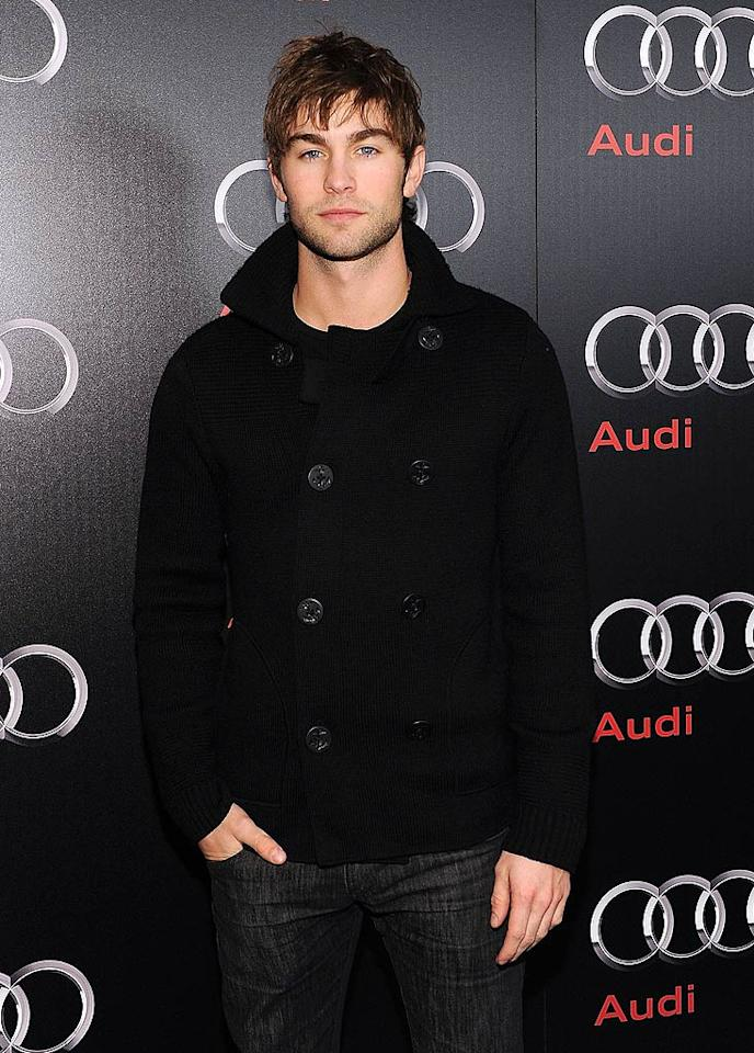 """Fans of """"Gossip Girl's"""" Chace Crawford will be happy to know that the dreamy 25-year-old actor is currently unattached. In the past, the native Texan has said he is attracted to girls from his home state. """"Maybe it's their special charm, the way they were raised or just their manners."""" Michael Buckner/<a href=""""http://www.gettyimages.com/"""" target=""""new"""">GettyImages.com</a> - February 5, 2011"""
