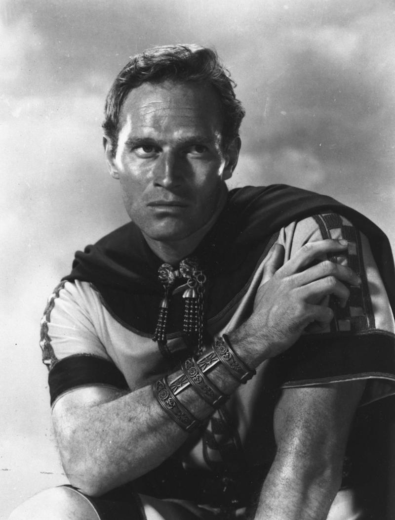 Charlton Heston in 1959 epic Ben-Hur