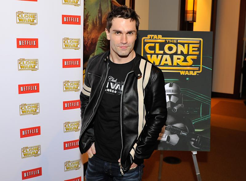 Sam Witwer attends a 'Star Wars: The Clone Wars' screening event on February 27, 2014. (Photo by Steve Jennings/WireImage)