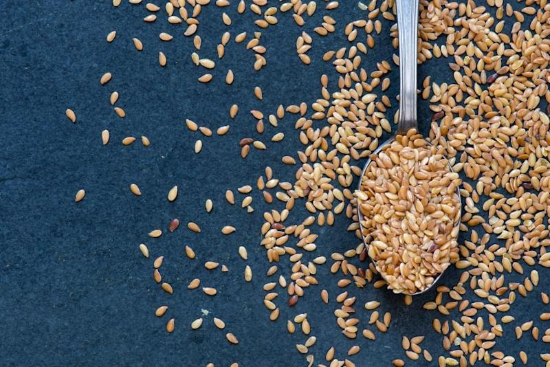 Seeds from the flax plant, which produces nutrient-rich milk.