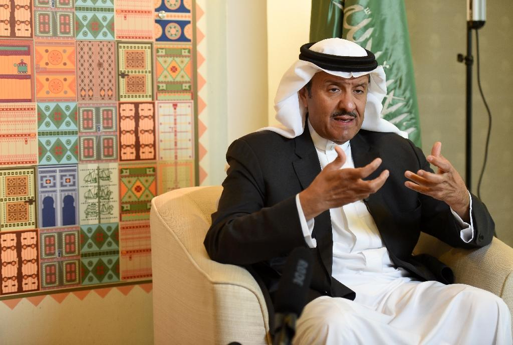 "Tourism chief Prince Sultan bin Salman bin Abdulaziz told AFP last month that: ""The kingdom is a very big treasure"", adding: ""We're not just oil traders."" (AFP Photo/FAYEZ NURELDINE)"