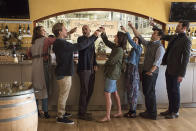 """<p><strong>The 1-Sentence Pitch:</strong> """"It's about a group of friends from college, but it's really about nostalgia,"""" writer/director Nick Stoller (<em>The Five-Year Engagement</em>) says of his eight-part Netflix series. """"How nostalgia can be fun, but also destroy your life in a way.""""<br><br><strong>What to Expect:</strong> When married couple Ethan and Lisa Turner (Keegan-Michael Key and Cobie Smulders) move back to New York, they reconnect with their collegiate pals, played by Fred Savage, Nat Faxon, and Annie Parisse. But with that close proximity comes tensions and buried histories that bubble to the surface, upsetting the comfortable routine of their lives. """"I'm shooting all eight episodes, and trying to treat it like a four-hour movie,"""" says Stoller.<br><br><strong>We Love the '90s:</strong> Because these characters are in their 40s, their halcyon college days took place in the late '80s and early '90s. Ethan, in particular, is prone to referencing movies from that era, including <em>Crocodile Dundee </em>and <em>Point Break</em>. """"He's a nostalgia junkie,"""" Key says. """"There are people in the world who spend time reaching back as opposed to looking forward. That's a thing we're exploring thematically in the show."""" <em>— EA</em><br><br>(Photo: David Lee/Netflix) </p>"""