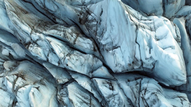 <p>Europe's largest marble-like glacier, Vatnajökull, is seen in a video. (Photo: Ran Rosenzweig/Caters News) </p>