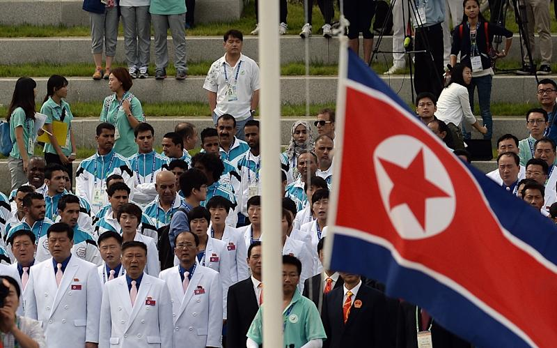 Gangnam Style' welcome at Asiad met by 'Pyongyang Style' silence
