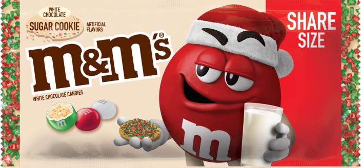 M&M's wants folks to savor some sugar cookies without setting foot in their kitchens. (M&M's/Mars)