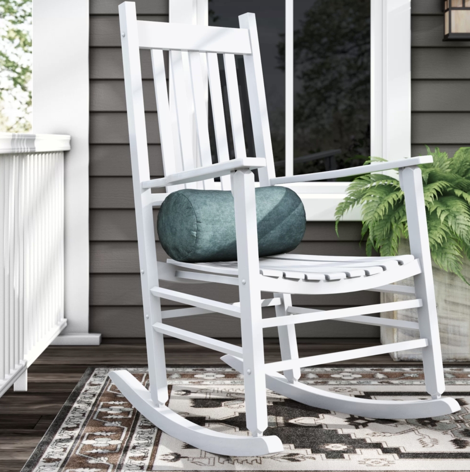 Late afternoons curled up in this chair is an afternoon well-spent. (Photo: Wayfair)