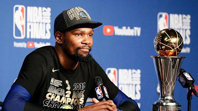 In order to properly cement his legacy as an individual player, would Kevin Durant be better off joining another NBA team?