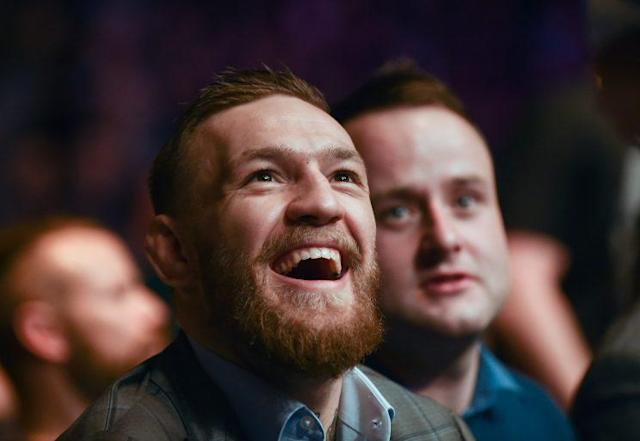 UFC lightweight champion Conor McGregor said his next bout will be a boxing match against Floyd Mayweather. (Getty Images)